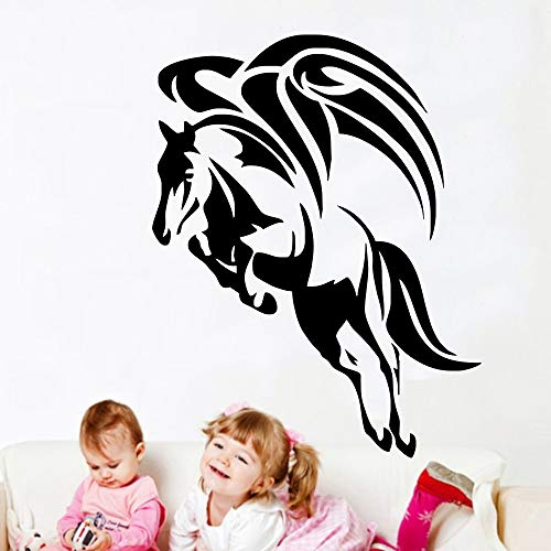 Environmental Protection Creative Wing Applique Vinyl Stickers Simple Home Decoration Wall Decoration Wall Stickers 57X77CM
