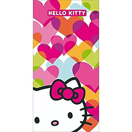 Hello Kitty – Toalla de Playa o de Baño (Mimi Love, 75 x 150