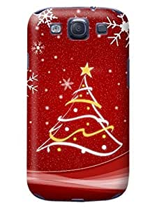 Durable fashionable Merry Christmas New TPU Phone Protection Case/cover Designed for Samsung Galaxy s3