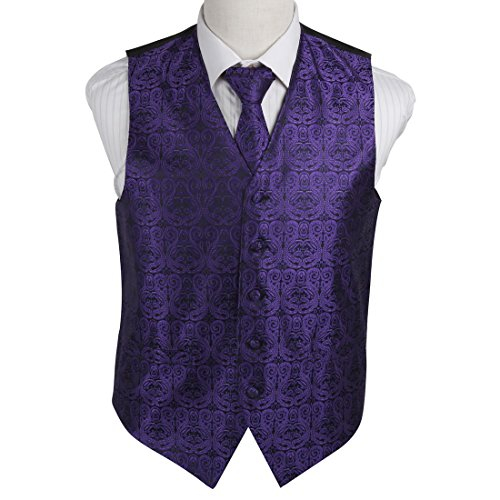 Tuxedo Vest Large Tie - 4