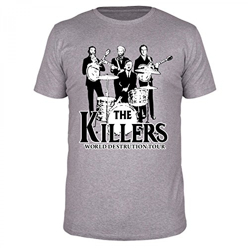 23b59b511058 FABTEE - The Killers World Destruction Tour, Fun Shirt Man, Size S-4XL