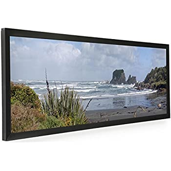 Amazon.com - Displays2go PNFA3612B Panoramic Print Picture Frame ...