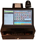 Complete Retail Point of Sale POS System with 14'' Screen with Bar Code Scanner. This Cutting Edge Point of Sale POS System Is Easier to Use and More Versatile Than a Simple Cash Register. Provides an Intuitive and Fast Way to Ring up Orders. You Can Manag