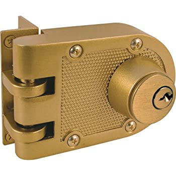 Nu Set 2125 3 Jimmy Proof Style Inter Locking Deadbolt