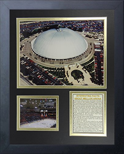 (Legends Never Die Pittsburgh Penguins Mellon Arena Collage Photo Frame, 11