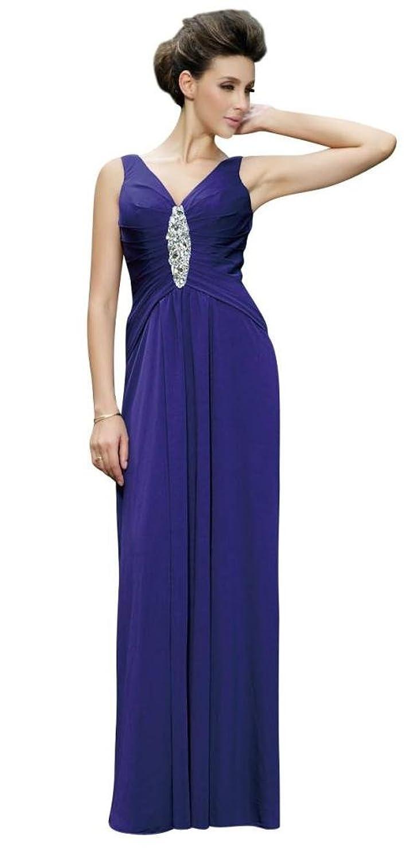 hochzeits-shop-hamburg Women's A-Line PlainDress Purple Purple