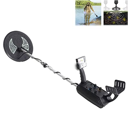 Amazon.com: WSBBQ Professional High Sensitivity Underground Metal Detector Gold Digger Jewelry Hunting Treasure Search LCD Display for Adults: Sports & ...