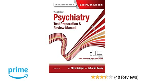 Psychiatry Test Preparation and Review Manual: 9780323396158