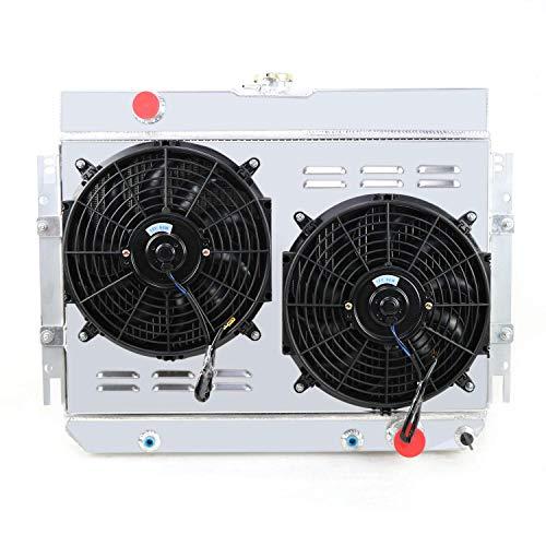 - CoolingCare 4 Row Radiator+ Louver Shroud+ 12