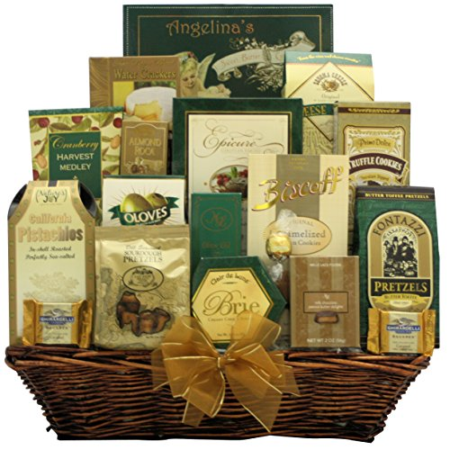 Best Wishes for the New Year: Gourmet New Year's Gift Basket