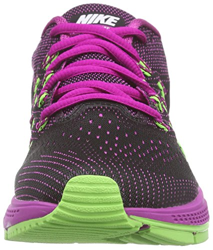 Nike Air Zoom Vomero 10 - Zapatillas de running Mujer - Fuchsia flash/Blk-White/Fuchsia Lime