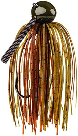 Strike King Tour Grade Football Jig Bait Green Pumpkin Craw, 0.75-Ounce