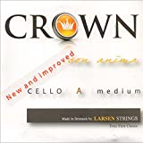 Crown Cello Strings are professional quality steel core strings with chromesteel windings at a student price. These great strings are made in Sweden using proven steel-core technology and are well suited to student and professional players alike.