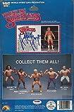 1985 Hulk Hogan Signed Series 1 Ljn Wwf Figure Card 5 Back #5a76493 Rare - PSA/DNA Certified - Autographed Wrestling Cards