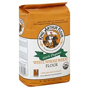 Amazon.com : King Arthur Flour, Og, White Whl Wheat, NET