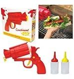 Fun Gun Shaped Party Condiment Dispenser