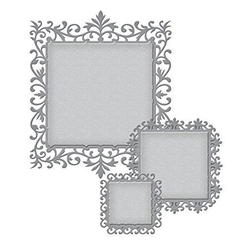 Spellbinders S4-477 Nestabilities Floral Assortment Etched/Wafer Thin - Etched Assortment