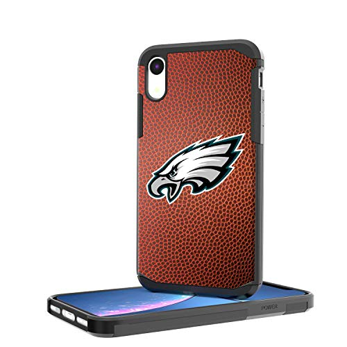 (Keyscaper NFL PhiladelphiaEagles KRGDXR-KNFL-PEAU01 Rugged Case, Black, iPhone XR)