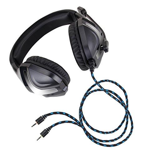 ENHANCE GX-H4 Computer Gaming Headset with Microphone - Braided Cable , Noise Isolating Headphones , Comfort Design Headband - Connect with 3.5mm AUX - INFILTRATE Series by ENHANCE (Image #6)