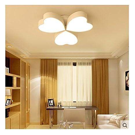 Camera cálida habitación lámpara romántico salón lámpara ...