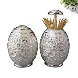Wang's European-style pressing style toothpick automatic toothpick box fashion creative living room toothpick barrel-I