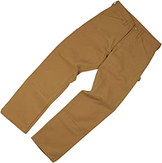 product image for Round House Brown Duck Double Front Carpenter Pants Dungaree Jean 2202