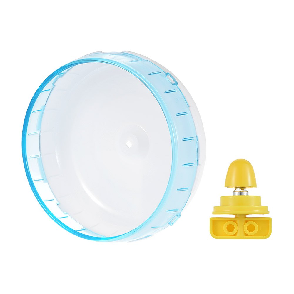 Walmeck 8.3inch Hamster Mice Gerbil Rat Exercise Wheel Silent Spinner PP Run Disc Small Animal Pet Toy