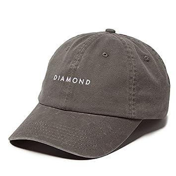 outlet store 91b56 1badb new zealand diamond supply co leeway sports hat grey dad cap 001de 74448