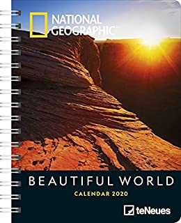 National Geographic Beautiful World 2020 Diary: Amazon.es ...