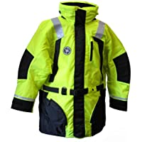 FIRST WATCH First Watch Hi-Vis Flotation Coat - Hi-Vis Yellow/Black - Large / AC-1100-HV-L /