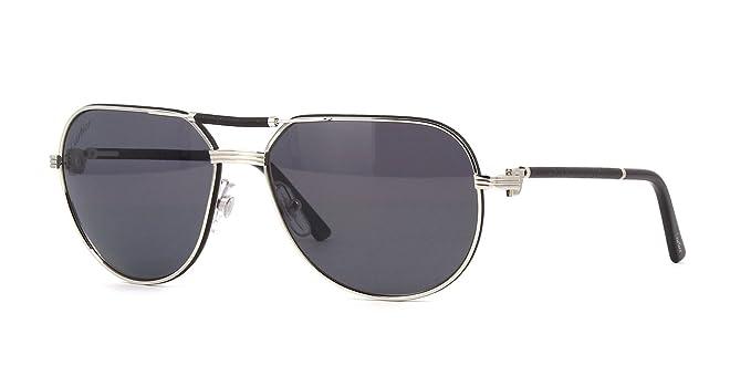 Cartier Herren Sonnenbrille schwarz schwarz CXXUr0wJ