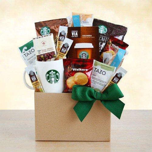 Harvest Time Starbucks Coffee and Tea Gift Basket