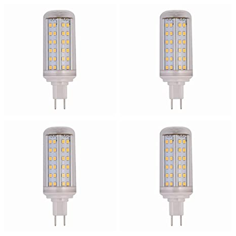 4 bombillas LED G8.5 de 10 W G8.5 de maíz SMD2835 84