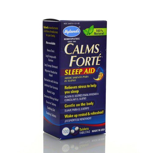 Hyland's Calms Forte Sleep Aid Tabs, 100 ct