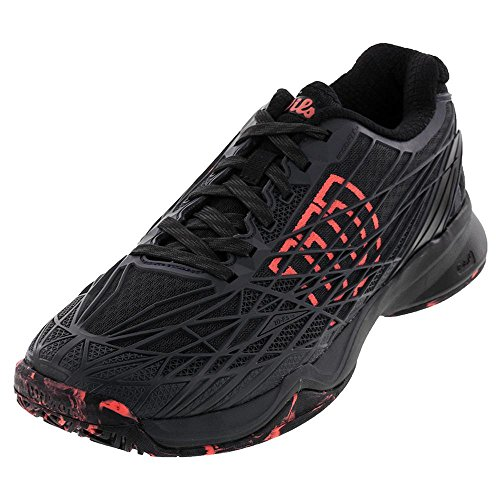 Shoe Black Kaos Tennis Coal Mens Ebony Wilson Fiery ZwXtTqwO