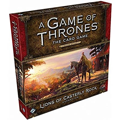 A Game of Thrones LCG Second Edition: Lions of Casterly Rock: Toys & Games