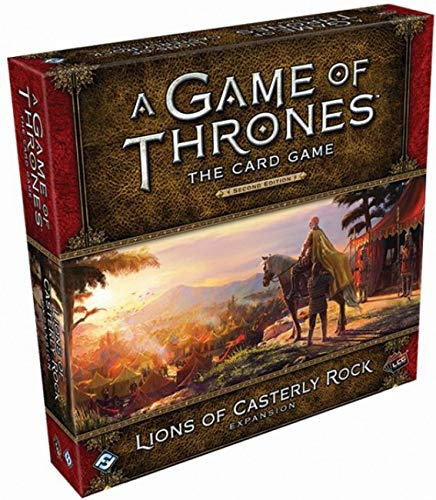 A Game of Thrones LCG Second Edition: Lions of Casterly Rock (Game Of Thrones Card Game Greyjoy Deck)