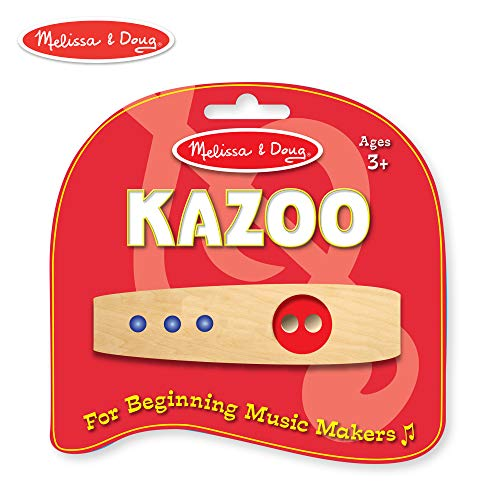 Melissa & Doug Makin' Music Beginner Wooden Kazoo ()