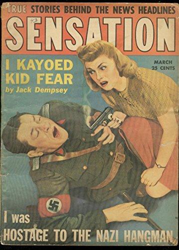 -BRUTAL NAZI COVER-JACK DEMPSEY WW2 G ()