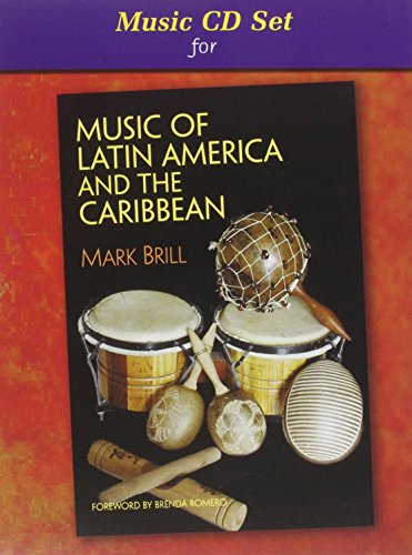 Compact Disc for Music of Latin America and the Carribbean