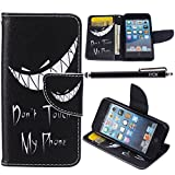 iPod Touch 5 Case, i Touch 6 Case Wallet, iYCK Premium PU Leather