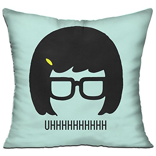 Tina Belcher Glasses Creative Pillow One Size (How To Make Ghostbuster Costume)
