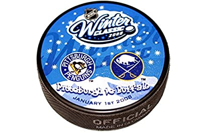 2008 NHL Winter Classic Dueling Hockey Puck