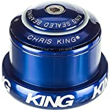 "Image of Chris King InSet 3 Headset 1-1 /8-1.5"" Tapered Head & Steer Tube Navy"