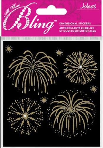Jolee's Boutique Bling, Fireworks Gold -