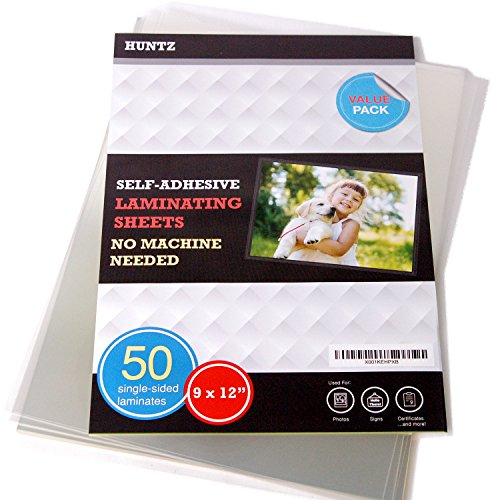 Self Adhesive Laminating Sheets - 4