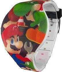 Nintendo Kid's NMK3402 Mario LED Watch