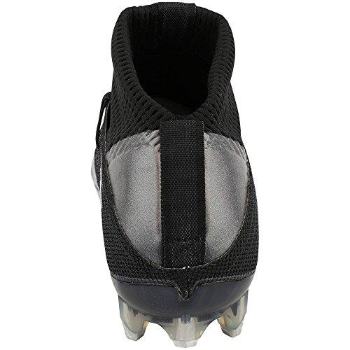 Nike Mens Vapore Intoccabile 2 Tacchetta Da Calcio Nero / Antracite / Argento Metallizzato