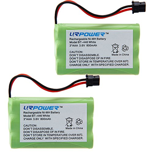 URPOWER® 2x 3.6V Ni-MH 800mAh Cordless  - Nickel Metal Hydride Cordless Phone Shopping Results