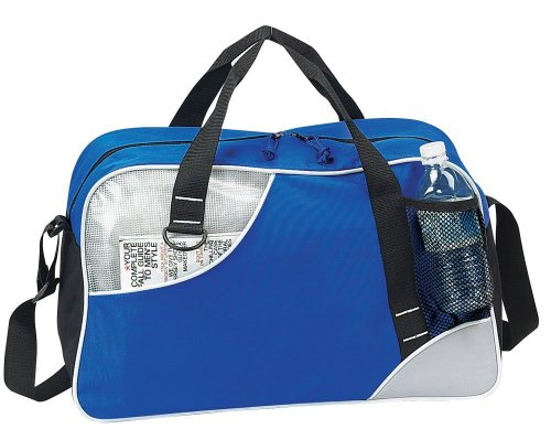 Double Take GYM Sport Travel Duffel Bag- Blue by Superdeals Store
